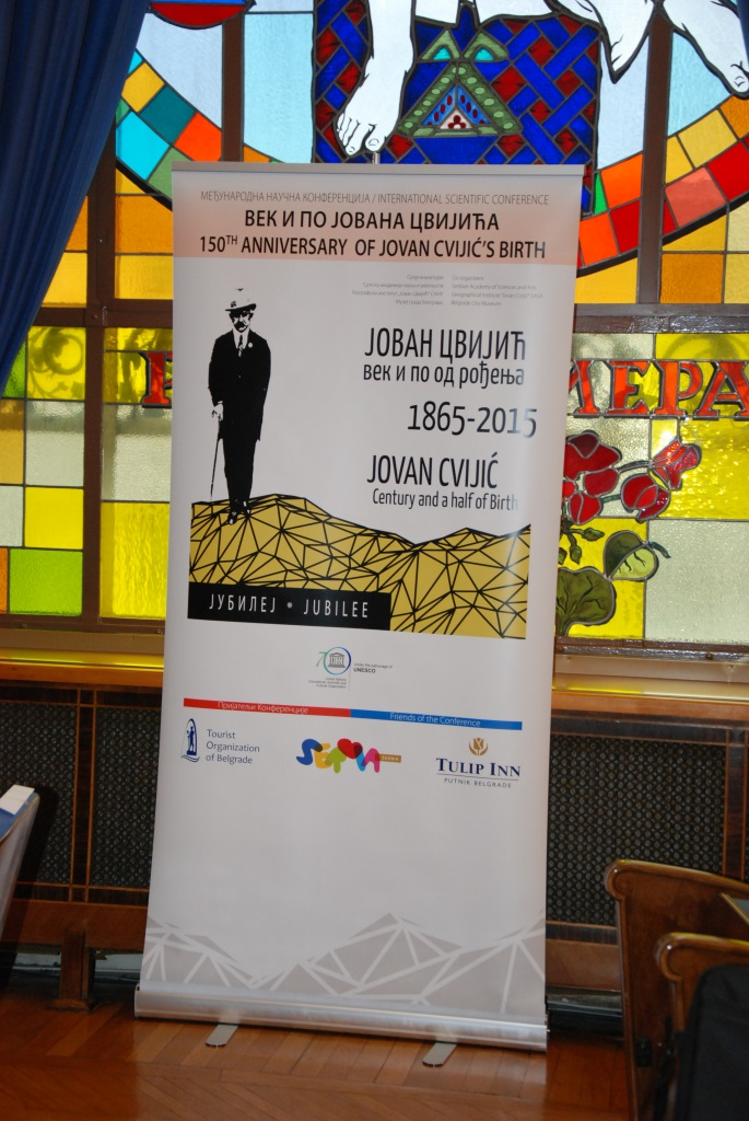 150th Anniversary of Jovan Cvijic's Birth
